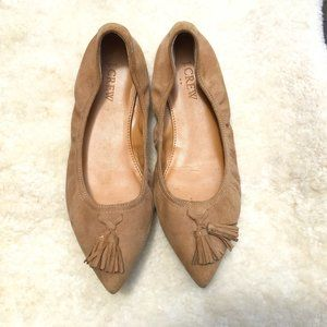 JCrew Suede Pointed Toe flats